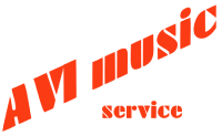 AVI Music Service Logo
